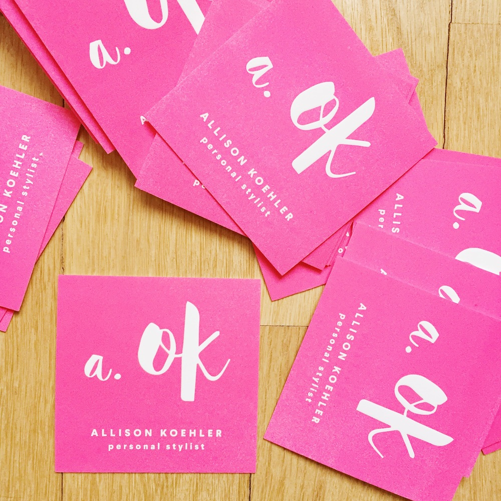 Business cards designed by The Bananaland, printed by Hartford Prints!