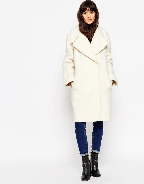 ASOS bell sleeved coat