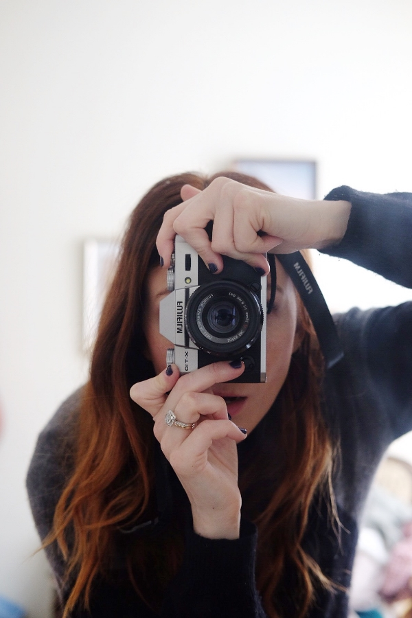 Still learning how to use a camera and quickly discovered how fun it is to take a camera selfie.
