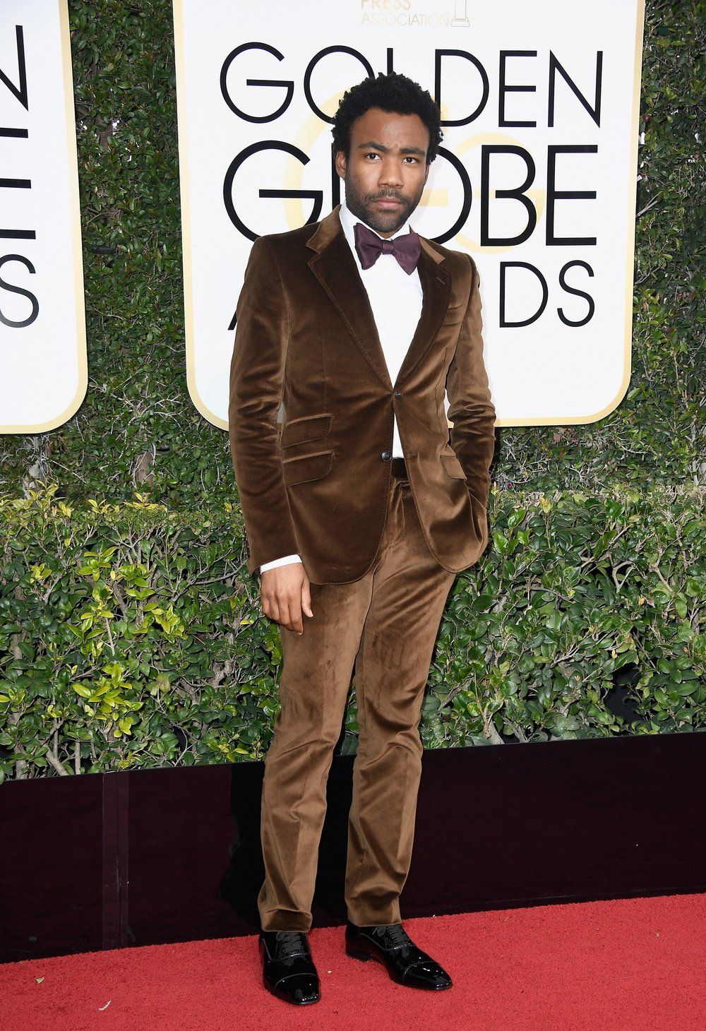 Donald Glover in Gucci.